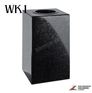 Cmentarzowy wazon kwadratowy 1