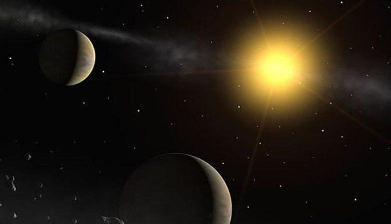 Conceito artístico da estrela Gliese 710