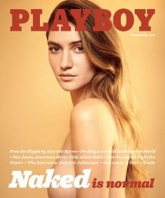 Capa da Playboy de Março de 2017.