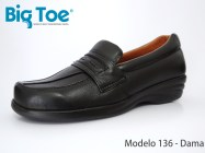 Zapato Big Toe para pie diabético de Dama Modelo136