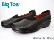 Zapato Big Toe para pie diabético de Dama Modelo 117