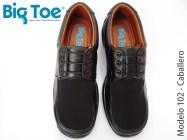 Zapato Big Toe para pie diabético de Caballero Modelo 102