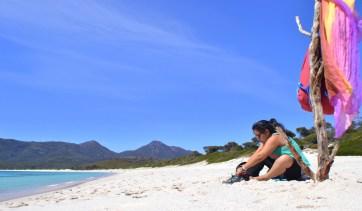 Relajados en Wineglass Bay