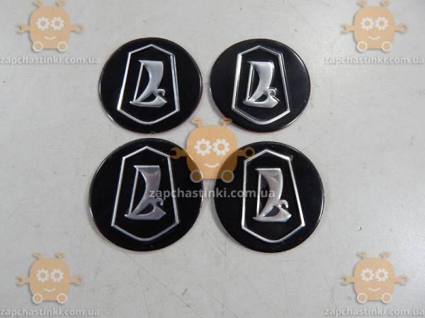 Эмблема колпака колеса ВАЗ LADA (наклейки силикон! 4шт ...