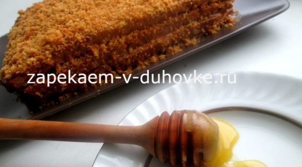 Медовик на кефире - самый вкусный и простой рецепт