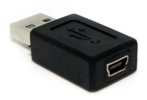 Adaptador USB a Mini USB M/H