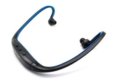 Auricular Diadema Sport MP3+Radio FM Azul