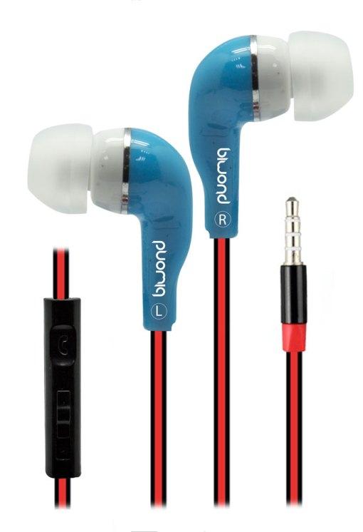 Auriculares + Micro MixSou Talk+ Azul Biwond