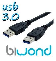 CABLE USB 3.0 1.8M BIWOND