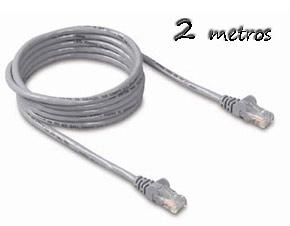 Cable Ethernet 2m Cat5e