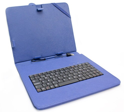 """Funda Tablet Teclado 9.7"""" Azul"""