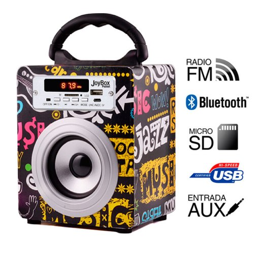 Reproductor JoyBox Pocket  Bluetooth Band Biwond