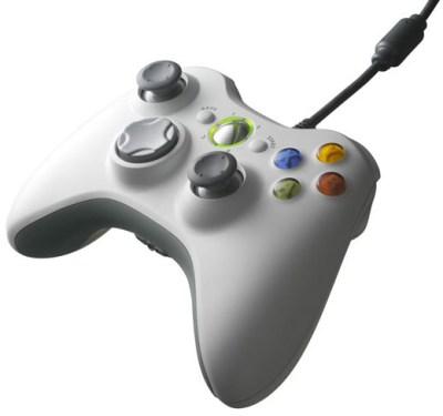 Mando Xbox360 Blanco (Con Cable)
