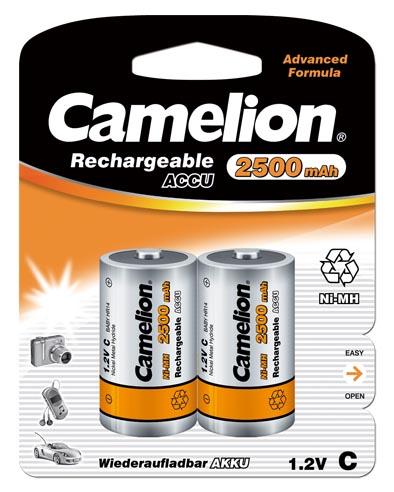 Recargable C 2500mAh (2 pcs) Camelion