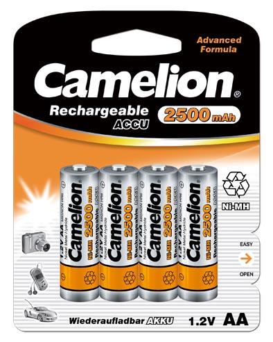 Recargable AA 2500mAh (4 pcs) Camelion