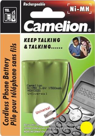 Recargable Telefono Inalambrico C031 1300mAh CAMELION