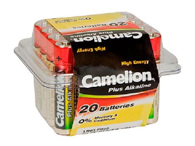Plus Alcalina AAA 1.5V (20 pcs) Camelion