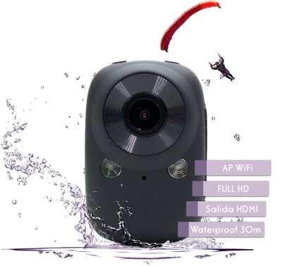 Sports Cam WiFi 1080P Wifi Waterproof 30m