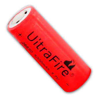 Pila Bateria UiTRAFIRE GH 26650 Litio