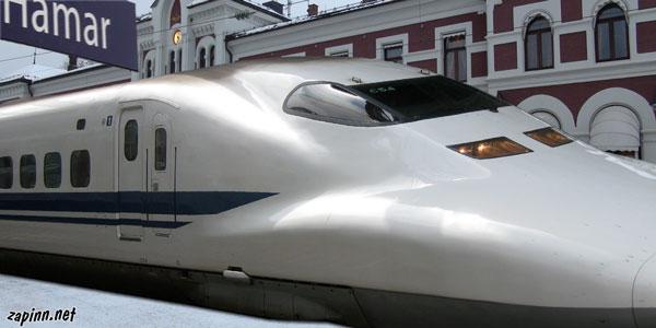 Jernbanen Lyntog Hamar