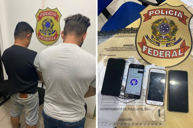 PF prende dois em Marabá, acusados de está enviado drogas via Correios