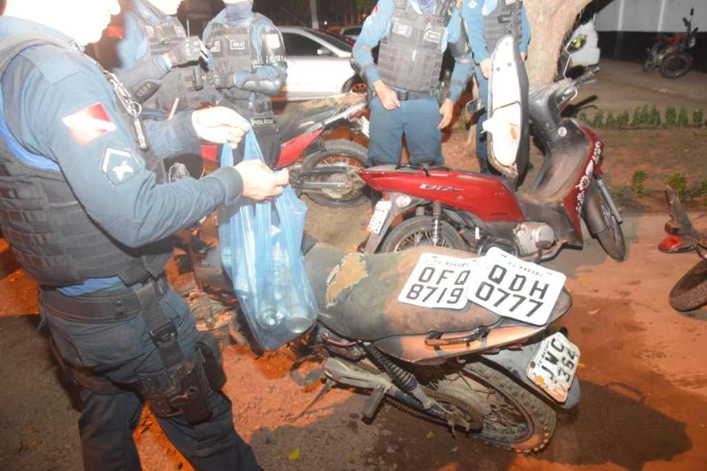 Mais um desmanche de moto derrubado pela Polícia de Marabá