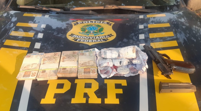 Em Itaituba, a PRF apreende ouro e 20 mil em dinheiro