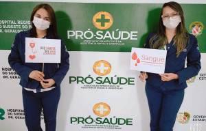 Na Semana Nacional da Doação de Sangue, Hospital Regional do Sudeste do Pará mobiliza colaboradores