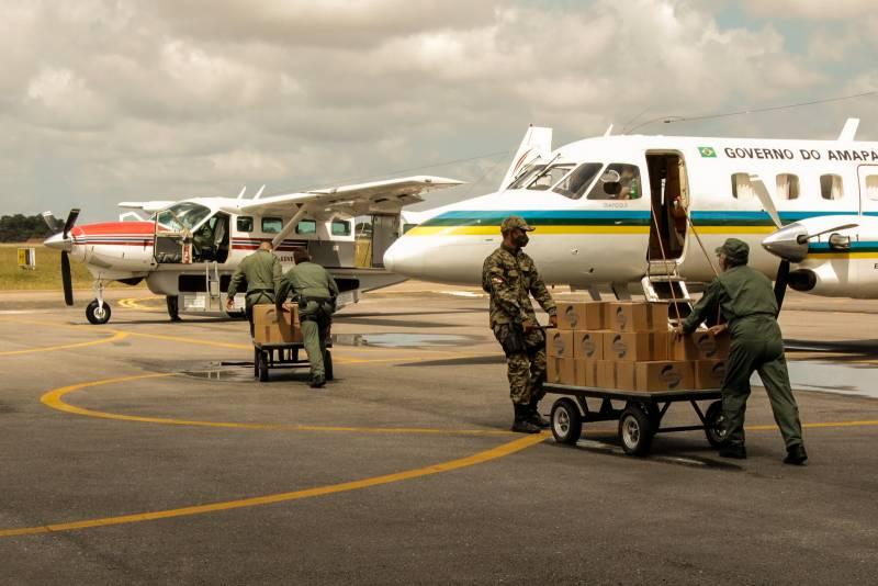 Governo do Pará envia alimentos e água ao Estado do Amapá