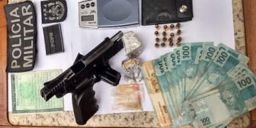 Homem é preso com pistola israelense