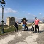 """Радио МОФ: """"За почиста Македонија"""" викендов собра 25 ќеси ѓубре од Скопското кале"""