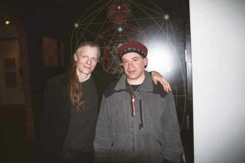 Alex Grey and Jonathan Zap at COSM