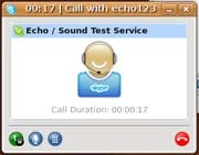 Skype VoIP client; click to view full-size image.