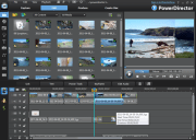 CyberLink PowerDirector is a relatively low-cost video editor.