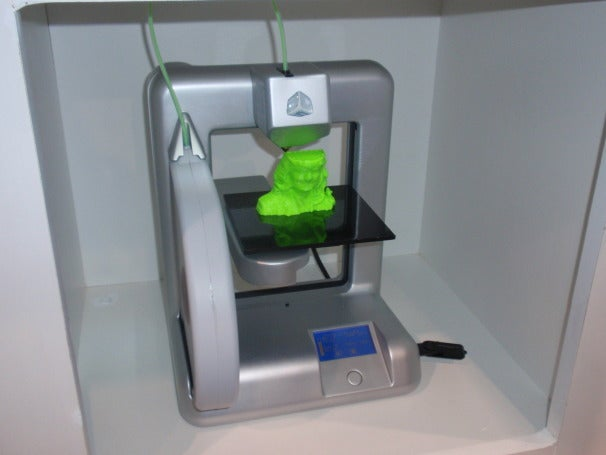 The Cubify Cube 3D Printer by 3D Systems