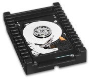 Western Digital WD VelociRaptor internal hard drive; click for full-size image.
