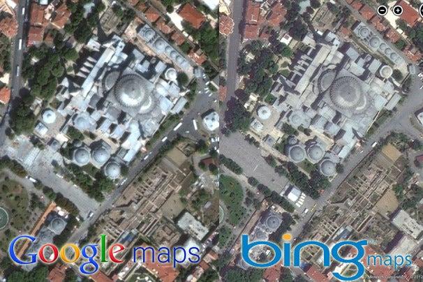 Google Maps vs. Bing Maps: A Showdown of Satellite Images