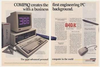 Compaq DeskPro 386 ad
