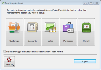 Acclivity AccountEdge Pro 2012 for Windows