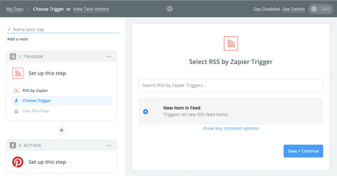 create social media posts via RSS