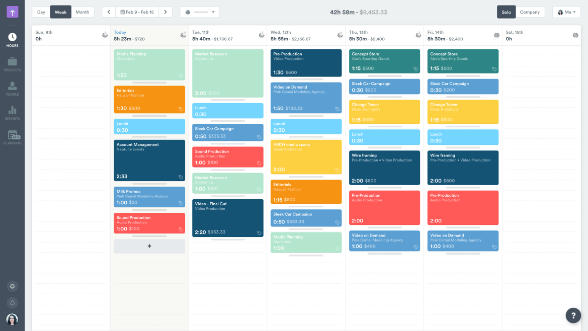 Timely time tracking and time management app