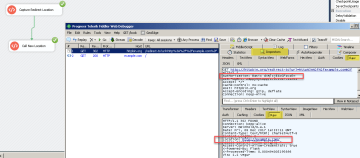 Debugging Web API call using Fiddler in SSIS