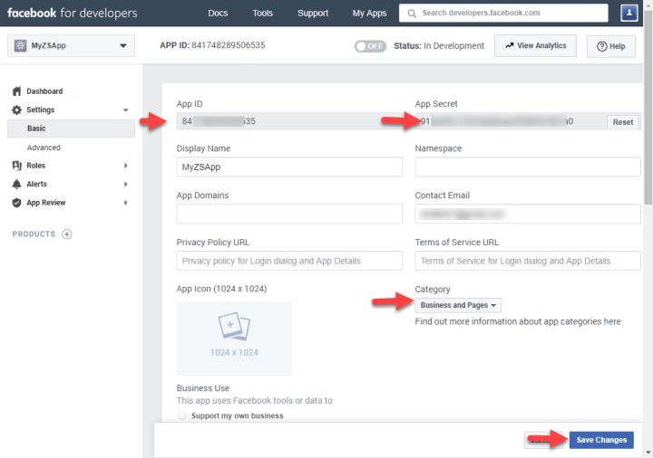 Register Facebook OAuth App for Custom Desktop Application (Basic Setup)