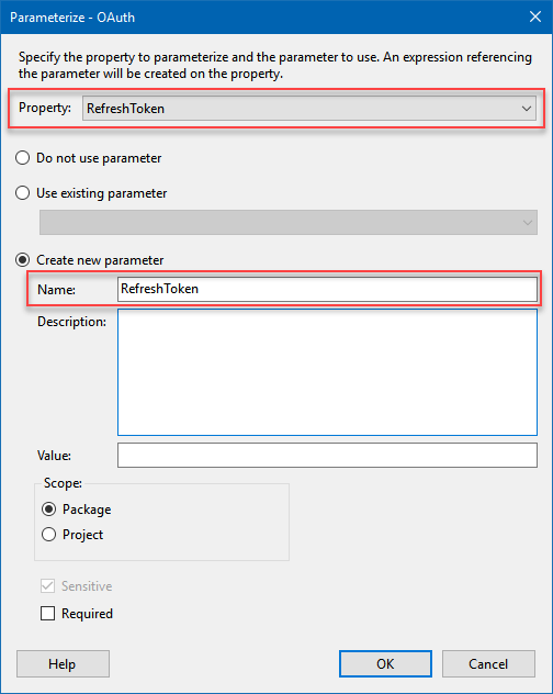 How to run an SSIS package with sensitive data on SQL Server