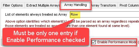 Parse XML Array - Performance Mode Setting