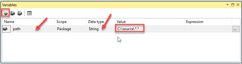 SSIS SFTP task example to upload, delete and download files