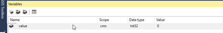 ssis-variable-value