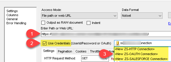 Create new REST API Connection in SSIS (For JSON, XML or CSV Source)