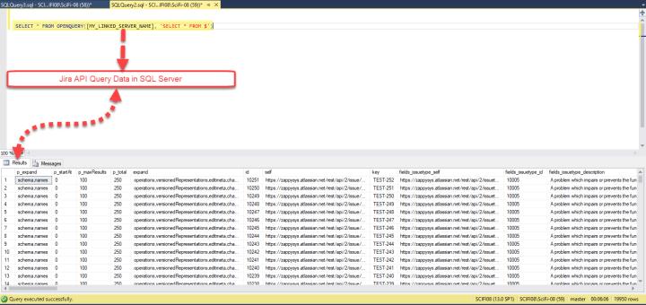 ODBC - Query API Data in SQL Server