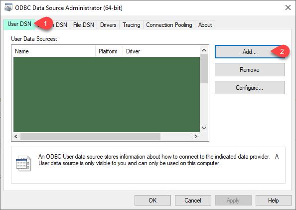 ZappySys ODBC Driver - Open UI